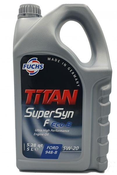 601411571_601452277_Fuchs Titan Supersyn F ECO-B 5W-20 5 Liter