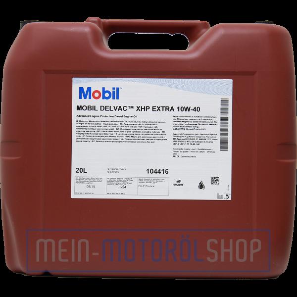 121737_5055107475195_Mobil_Delvac_XHP_Extra_10W-40_20 Liter