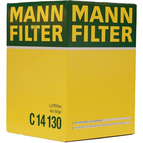 Original MANN-FILTER LUFTFILTER C 14 130 AUDI A3 VW GOLF 5 6 GOLF PLUS