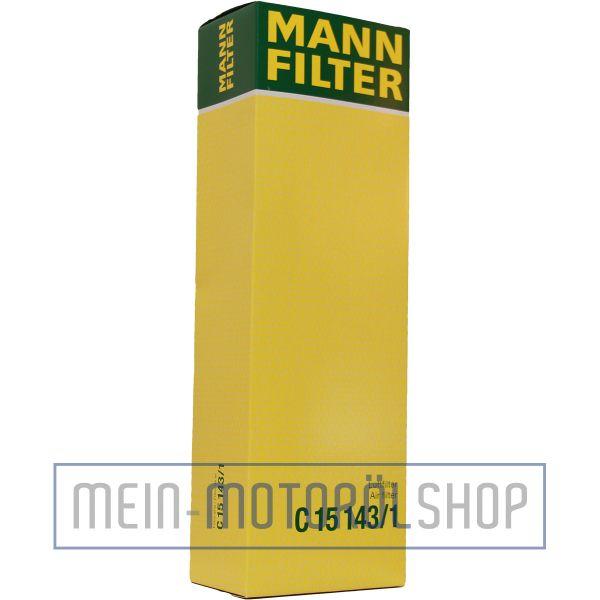 Original MANN-FILTER LUFTFILTER C 15 143/1 BMW 5 X5