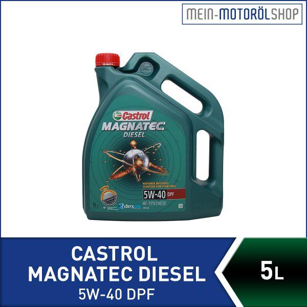 1502BA_4008177024610_Castrol_Magnatec_Diesel_5W-40_DPF_5 Liter