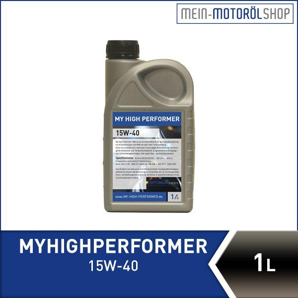 MyHighPerformer_15W_40_1 Liter