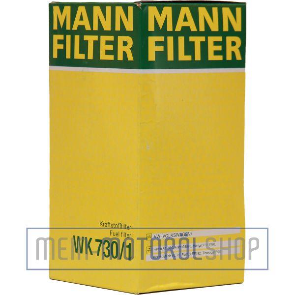 Original MANN-FILTER KRAFTSTOFFFILTER WK 730/1 AUDI A3 A4 SKODA OCTAVIA VW