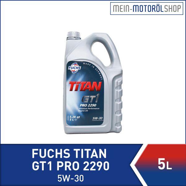 601425066_4001541229673_Fuchs_Titan_GT1_PRO_2290_5W-30_5 Liter