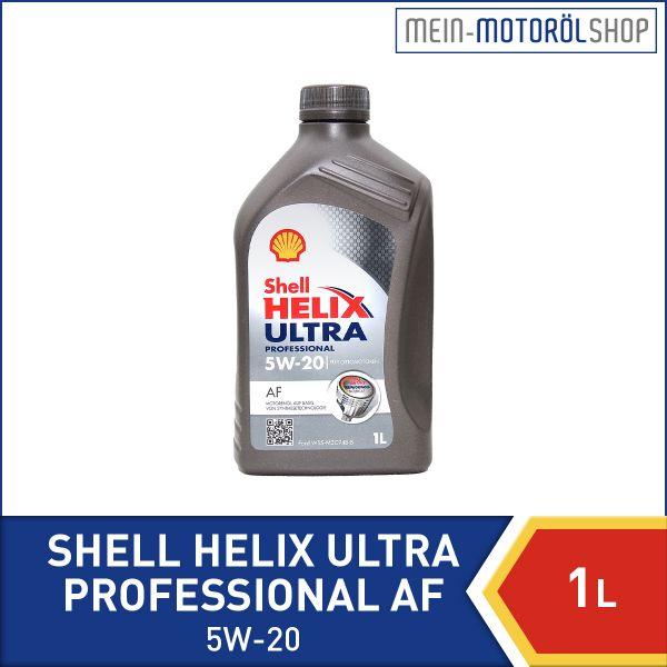 550042305_5011987000438_Shell_Helix_Ultra_Professional_AF_5W-20_1 Liter