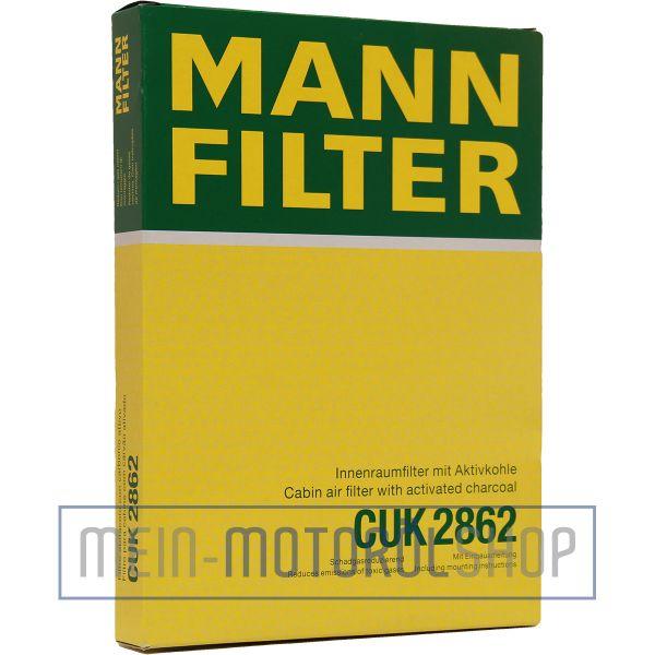 Original MANN-FILTER FILTER INNENRAUMLUFTFILTER CUK 2862 AUDI A3 VW GOLF 4 LUPO POLO