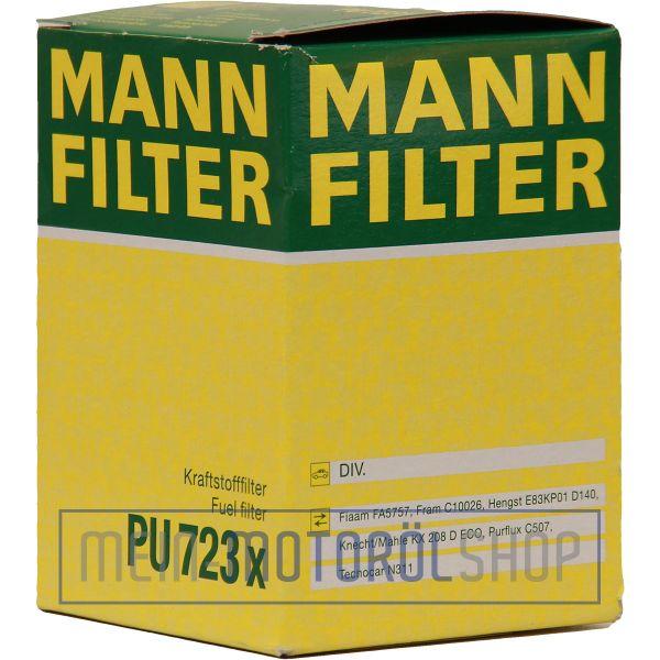 Original MANN-FILTER KRAFTSTOFFFILTER PU 723 X FIAT DUCATO OPEL VECTRA ZAFIRA A