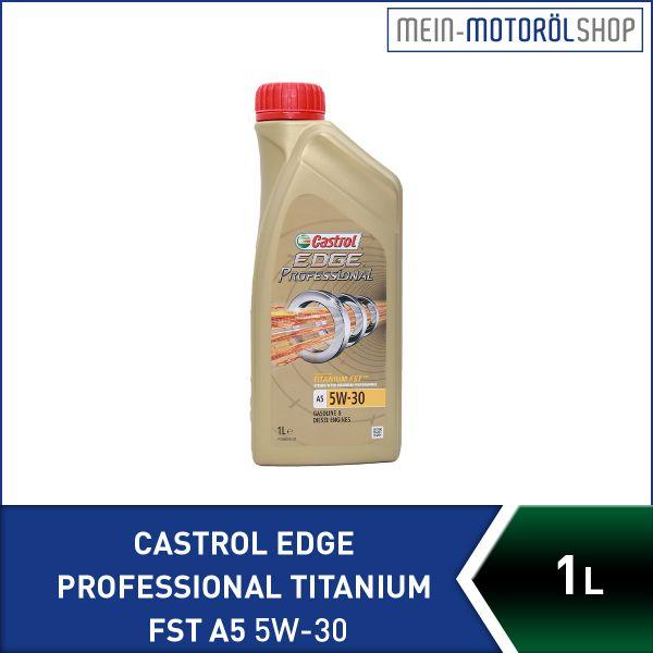 Castrol Edge Professional Titanium FST A5 5W-30