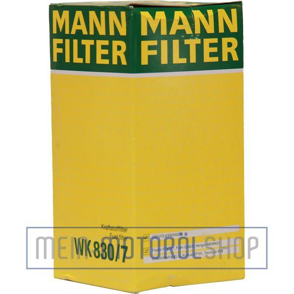 Original MANN-FILTER KRAFTSTOFFFILTER WK 830/7 AUDI A4 VW GOLF 3 PASSAT