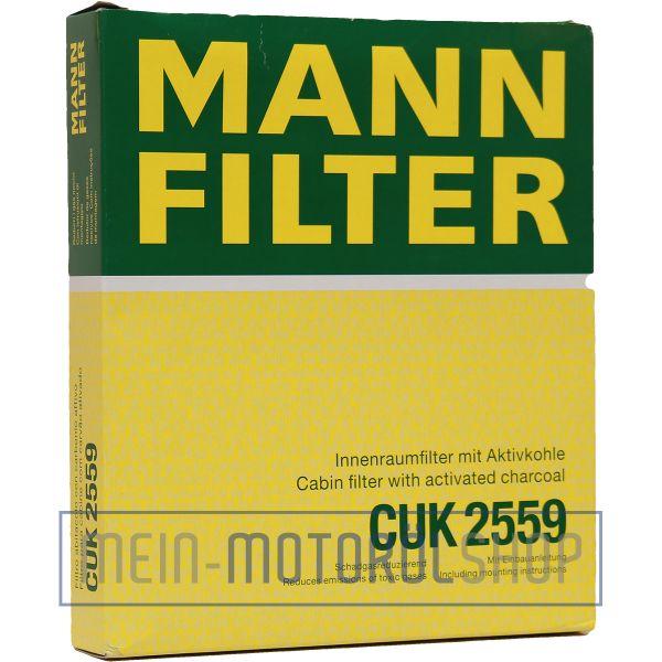 Original MANN-FILTER FILTER INNENRAUMLUFT CUK 2559 FORD C MAX FOCUS GALAXY KUGA MONDEO