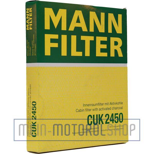 Original MANN-FILTER Original Filter, Innenraumluft - CUK 2450 - Audi A4,Q5