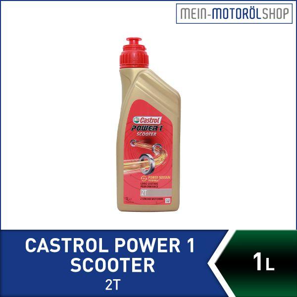 14E960_4008177053405_Castrol_Power_1_Scooter_2T_1 Liter