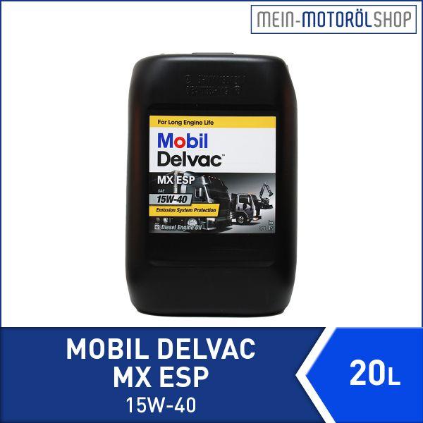 150775a_5055107434901_Mobil_Delvac_MX_ESP_15W-40_20 Liter