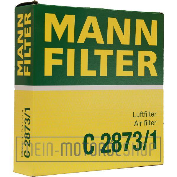 Original MANN-FILTER LUFTFILTER C 2873/1 SEAT AROSA VW GOLF GOLF 3 LUPO POLO