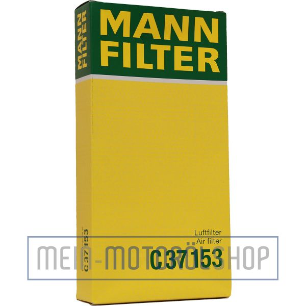 Original MANN-FILTER LUFTFILTER C 37 153 AUDI A3 SKODA OCTAVIA VW GOLF GOLF 4