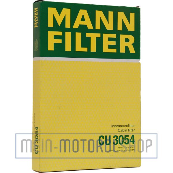 Original MANN-FILTER FILTER INNENRAUMLUFT CU 3054 OPEL ASTRA ZAFIRA