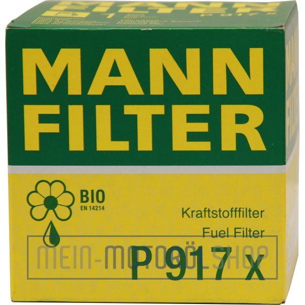 Original MANN-FILTER KRAFTSTOFFFILTER P 917 X FORD FIESTA MONDEO