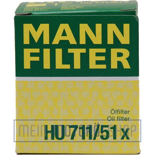 Original MANN Filter Ölfilter HU 711/51x CITROEN FIAT FORD MINI TOYOTA VOLVO